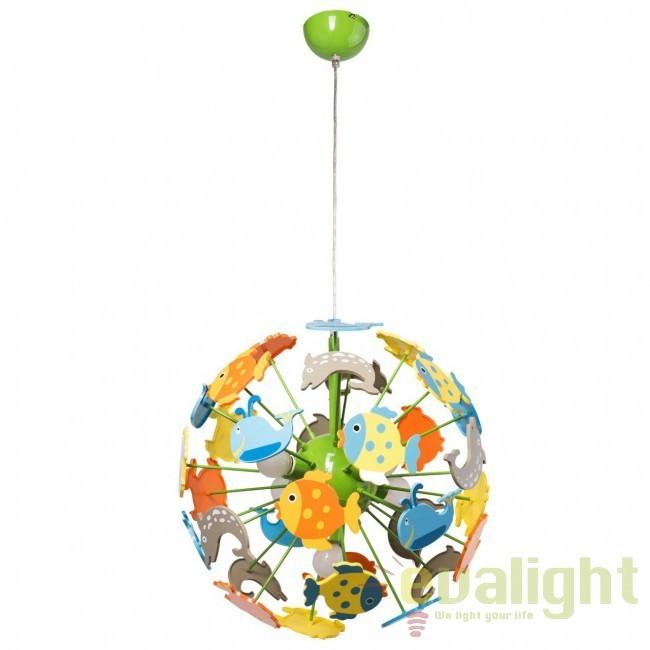 Pendul pentru copii Fish Kinder 365014705 MW, Magazin, Corpuri de iluminat, lustre, aplice, veioze, lampadare, plafoniere. Mobilier si decoratiuni, oglinzi, scaune, fotolii. Oferte speciale iluminat interior si exterior. Livram in toata tara.  a