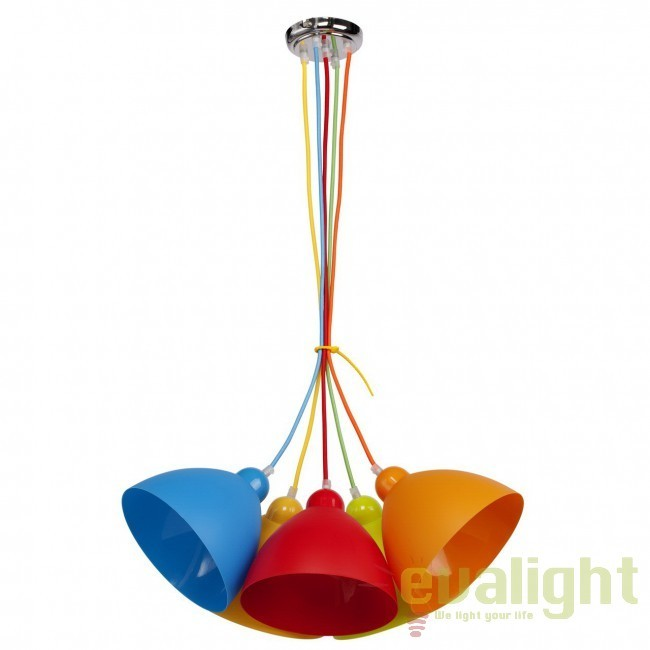 Pendul pentru copii Color Bomb Kinder 365014505 MW, PROMOTII, Corpuri de iluminat, lustre, aplice, veioze, lampadare, plafoniere. Mobilier si decoratiuni, oglinzi, scaune, fotolii. Oferte speciale iluminat interior si exterior. Livram in toata tara.  a