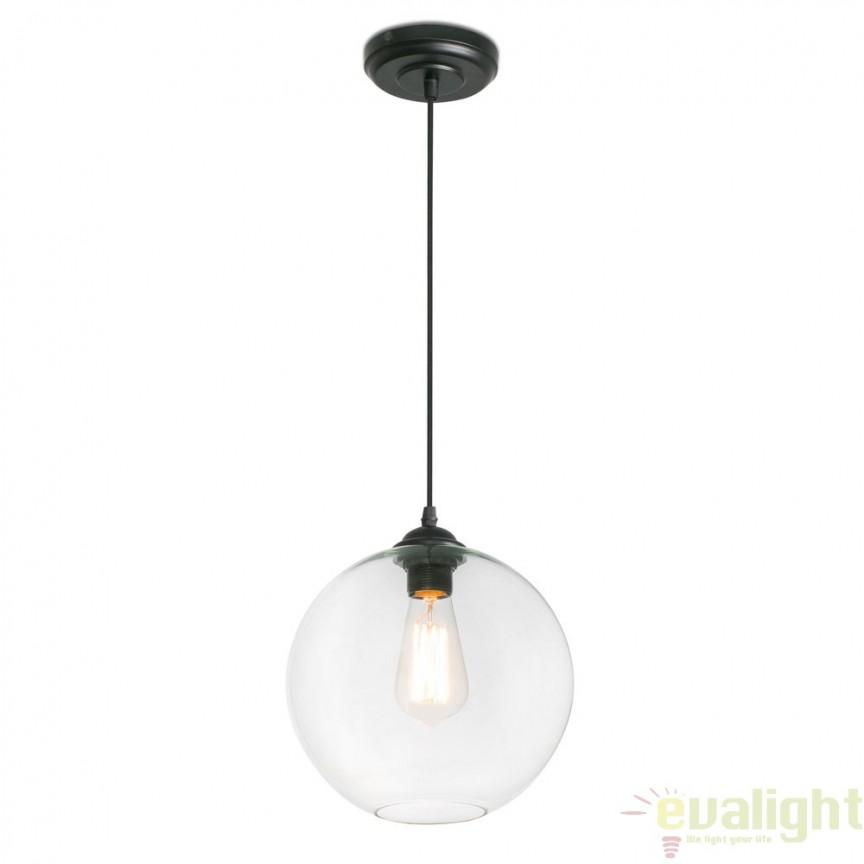 Pendul design minimalist CLARA Transparent 64128 , Promotii si Reduceri⭐ Oferte ✅Corpuri de iluminat ✅Lustre ✅Mobila ✅Decoratiuni de interior si exterior.⭕Pret redus online➜Lichidari de stoc❗ Magazin ➽ www.evalight.ro. a