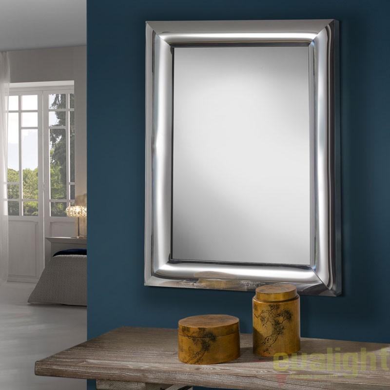 Oglinda decorativa 107,5x75cm BERLIN 474231, Oglinzi pentru baie, Corpuri de iluminat, lustre, aplice, veioze, lampadare, plafoniere. Mobilier si decoratiuni, oglinzi, scaune, fotolii. Oferte speciale iluminat interior si exterior. Livram in toata tara.  a