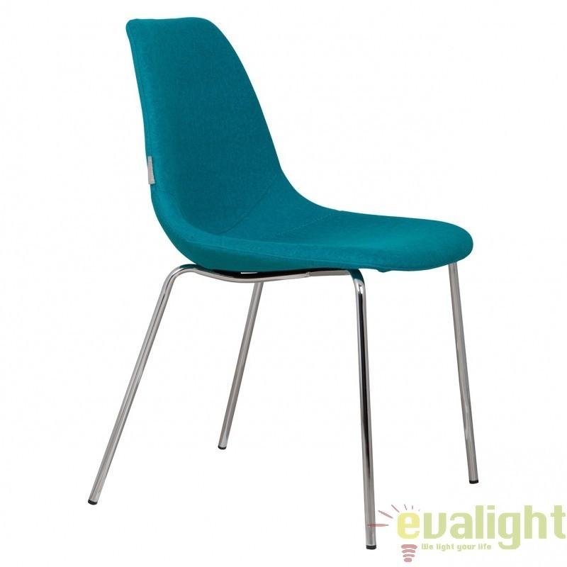Scaun design ergonomic FIFTEEN UP albastru 1100214 ZV, Corpuri de iluminat, lustre, aplice