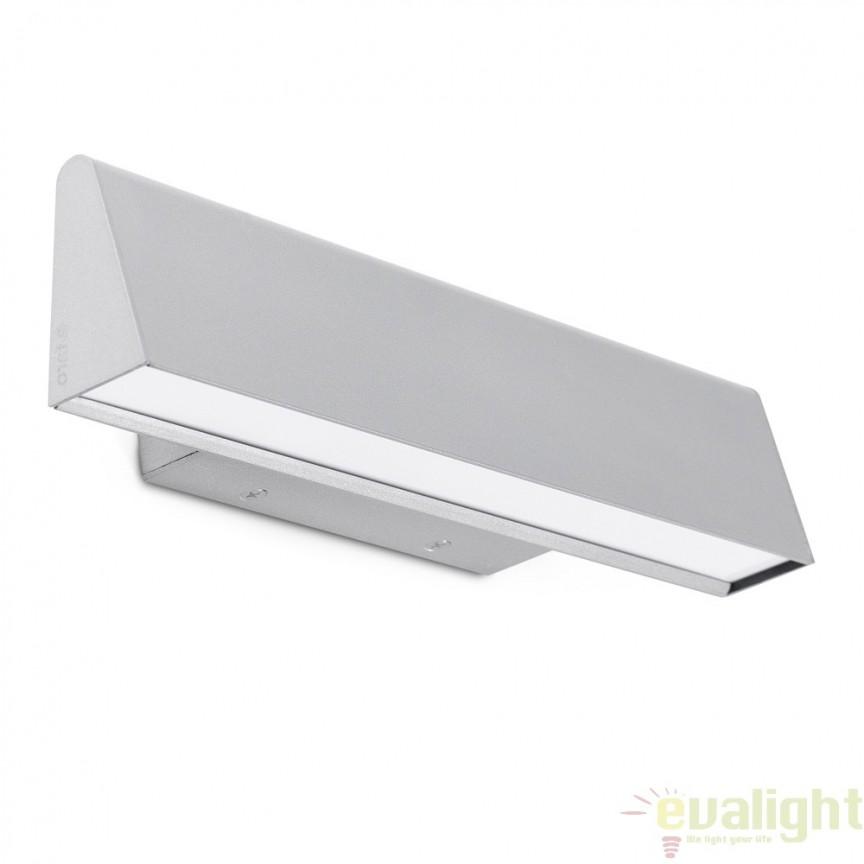 Aplica de perete LED ambientala cu design modern, CONIK aluminiu 64218, Aplice de perete LED, moderne⭐ modele potrivite pentru dormitor,living,baie,hol,bucatarie.✅Design premium actual Top 2020!❤️Promotii lampi❗ ➽ www.evalight.ro. Alege oferte la corpuri de iluminat cu LED pt tavan interior, (becuri cu leduri si module LED integrate cu lumina calda, naturala sau rece), ieftine si de lux, calitate deosebita la cel mai bun pret.  a