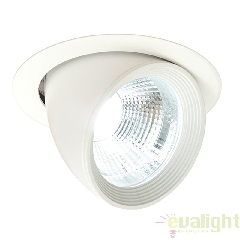 Spot incastrabil directionabil cu iluminat LED, Form 46393 EN , Spoturi LED incastrate, aplicate, Corpuri de iluminat, lustre, aplice a