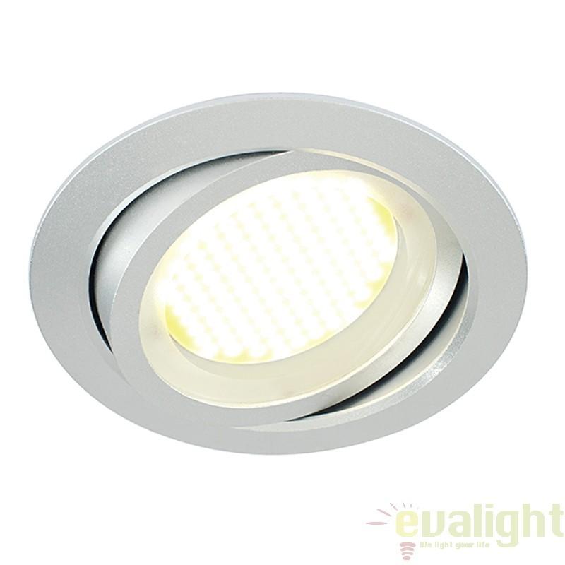 Spot incastrabil reglabil cu iluminat LED, Zante 14013 EN , Spoturi LED incastrate, aplicate, Corpuri de iluminat, lustre, aplice a