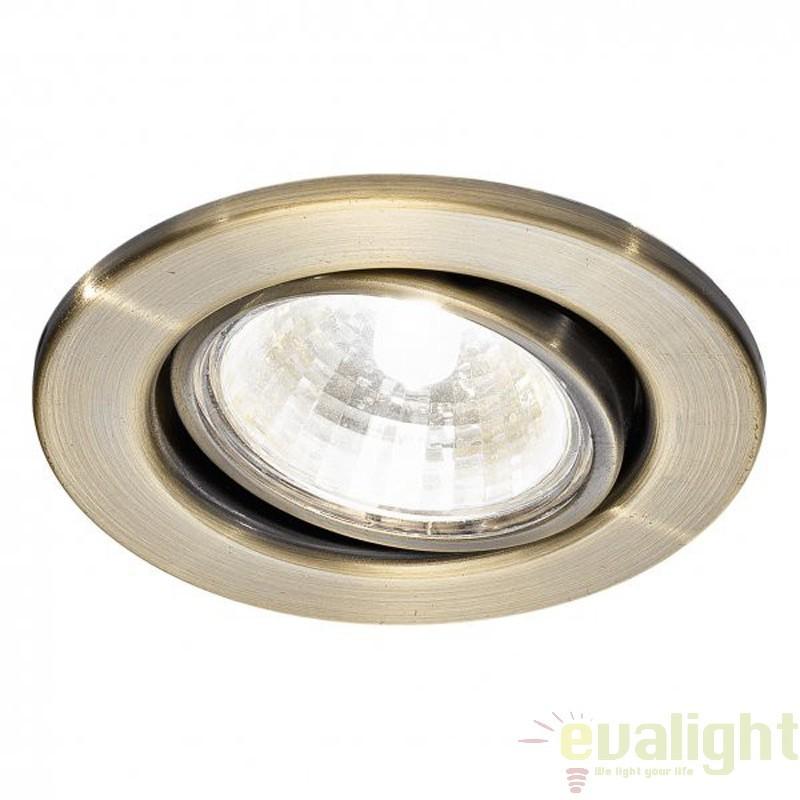 Spot incastrabil orientabil modern,12V 1x 20Watt G4, Einbauspot 80385 EL, Spoturi incastrate, aplicate - tavan / perete, Corpuri de iluminat, lustre, aplice a