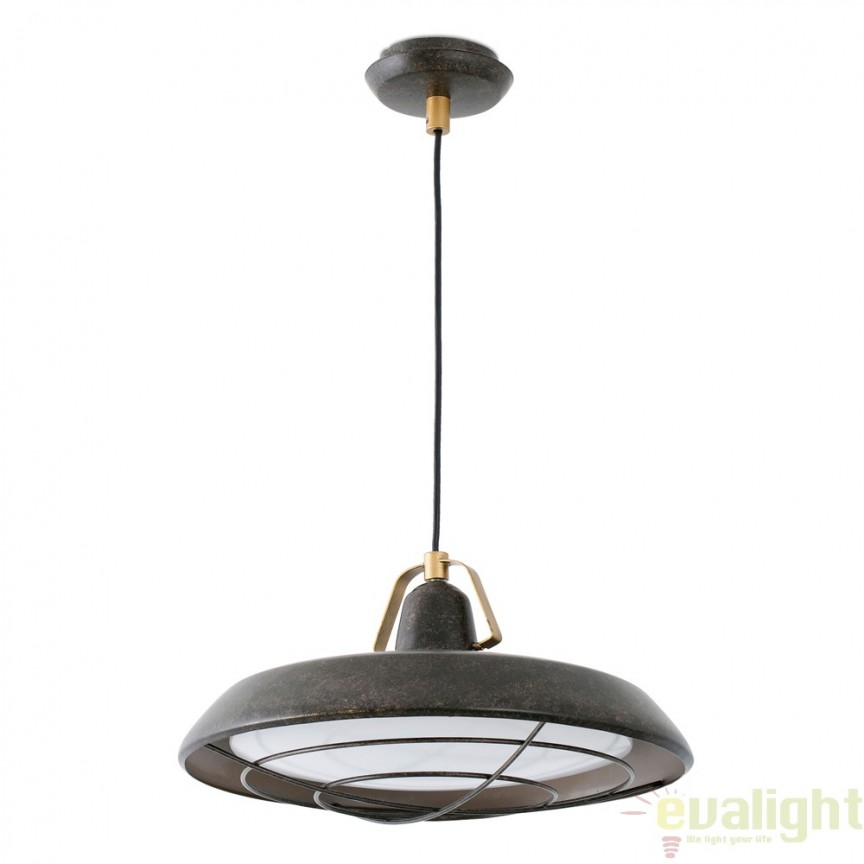 LUSTRA / PENDUL LED STIL RETRO Industrial Style VINTAGE PLEC 66210 , Cele mai vandute Corpuri de iluminat, lustre, aplice, veioze, lampadare, plafoniere. Mobilier si decoratiuni, oglinzi, scaune, fotolii. Oferte speciale iluminat interior si exterior. Livram in toata tara.  a