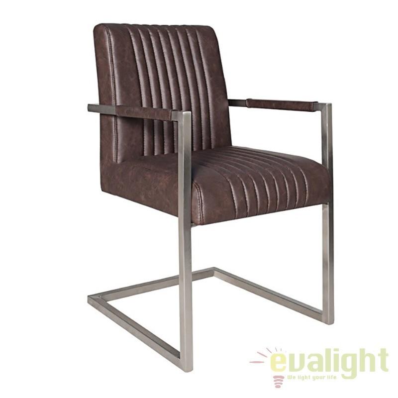 Set de 2 scaune dining sau birou elegant si relaxant, Big Aston A-35878 VC, PROMOTII,  a