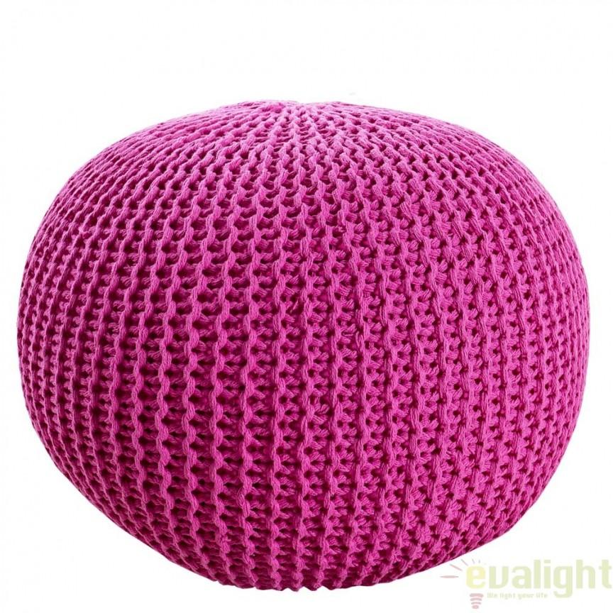 Taburete multifunctional Leeds 50cm roz A-23107 VC, Corpuri de iluminat, lustre, aplice, veioze, lampadare, plafoniere. Mobilier si decoratiuni, oglinzi, scaune, fotolii. Oferte speciale iluminat interior si exterior. Livram in toata tara.