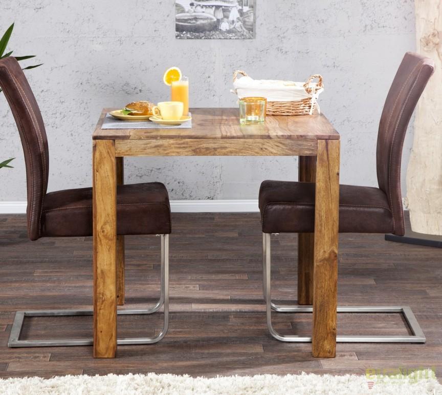 Masa bistro din lemn de trandafir, Lagos 70cm A-36746 VC, Mese dining, Corpuri de iluminat, lustre, aplice a