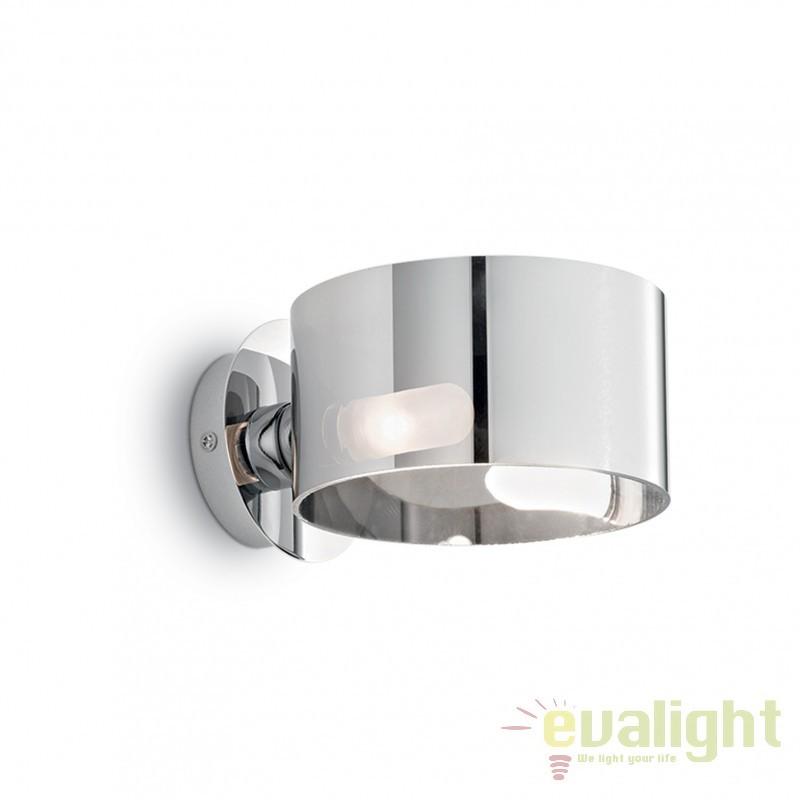 Aplica de perete Anello AP1 cromo 028323, Promotii si Reduceri⭐ Oferte ✅Corpuri de iluminat ✅Lustre ✅Mobila ✅Decoratiuni de interior si exterior.⭕Pret redus online➜Lichidari de stoc❗ Magazin ➽ www.evalight.ro. a