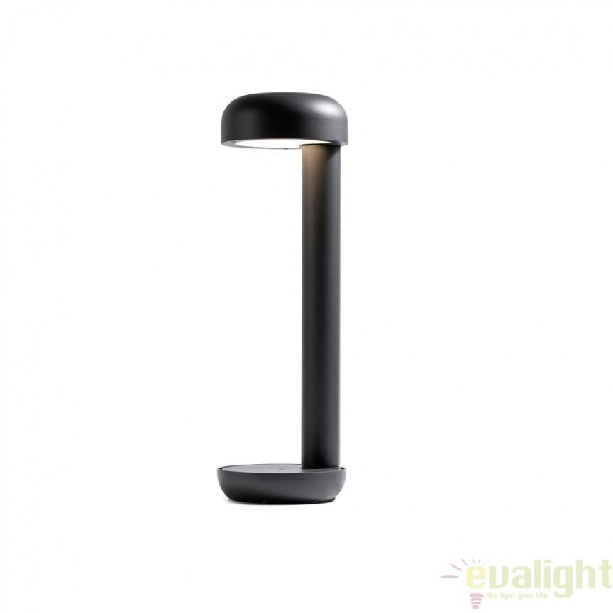 Stalp LED iluminat exterior design modern GROW M 71206 Faro Barcelona, Stalpi de iluminat exterior mici si medii , Corpuri de iluminat, lustre, aplice a