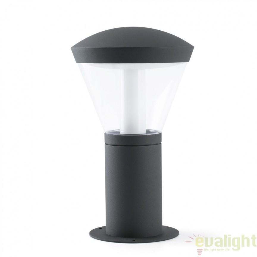 STALP LED EXTERIOR DESIGN MODERN 75537 SHELBY M Faro Barcelona , Stalpi de iluminat exterior mici si medii , Corpuri de iluminat, lustre, aplice a