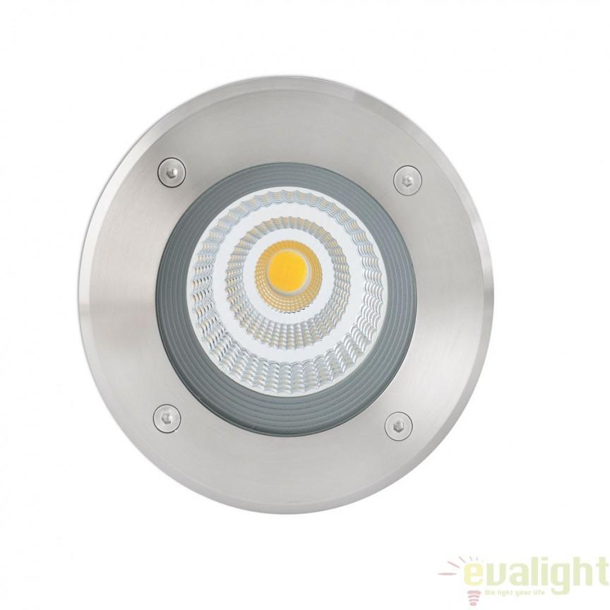SPOT LED INCASTRABIL DE EXTERIOR SURIA-12 70593N Faro Barcelona , Iluminat exterior incastrabil , Corpuri de iluminat, lustre, aplice a