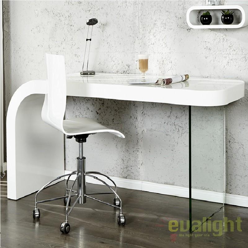 Birou elegant cu desig inovator Onyx 140cm A-17423 VC, Console - Birouri, Corpuri de iluminat, lustre, aplice a