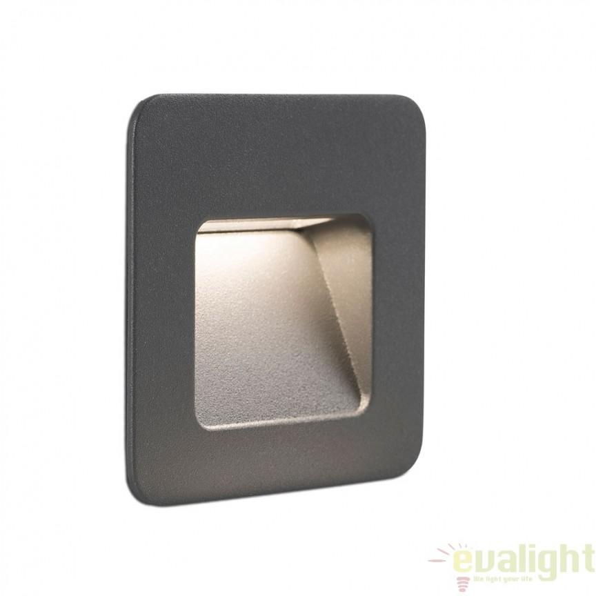 SPOT LED INCASTRABIL DE EXTERIOR NASE-1 70398 Faro Barcelona , Iluminat exterior incastrabil , Corpuri de iluminat, lustre, aplice a