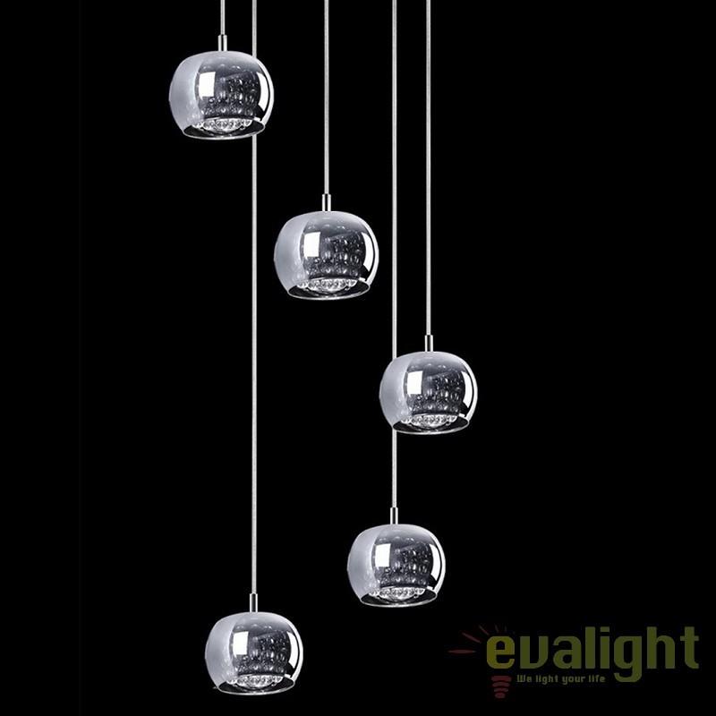 Plafonier patrat 25x25cm Cedric 40980, Plafoniere moderne, Corpuri de iluminat, lustre, aplice a