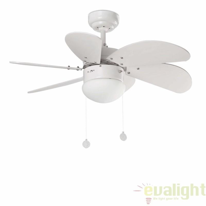 Lustra cu ventilator Palao alb 33180 Faro Barcelona, Rezultate cautare, Corpuri de iluminat, lustre, aplice a