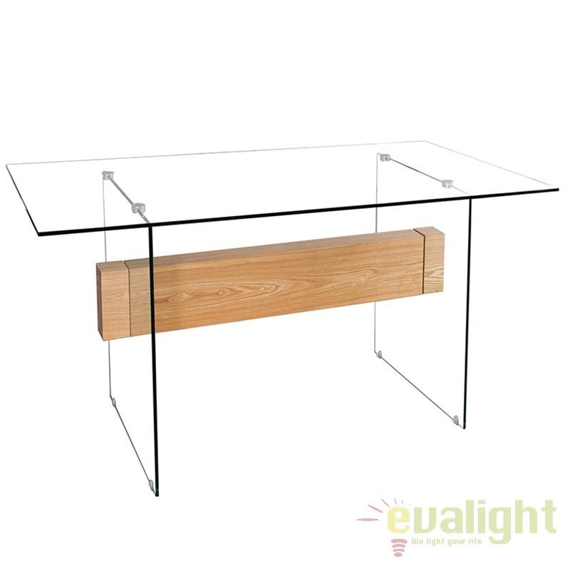 Birou elegant cu design inovator Onyx 160cm A-36202 VC, Console - Birouri, Corpuri de iluminat, lustre, aplice a