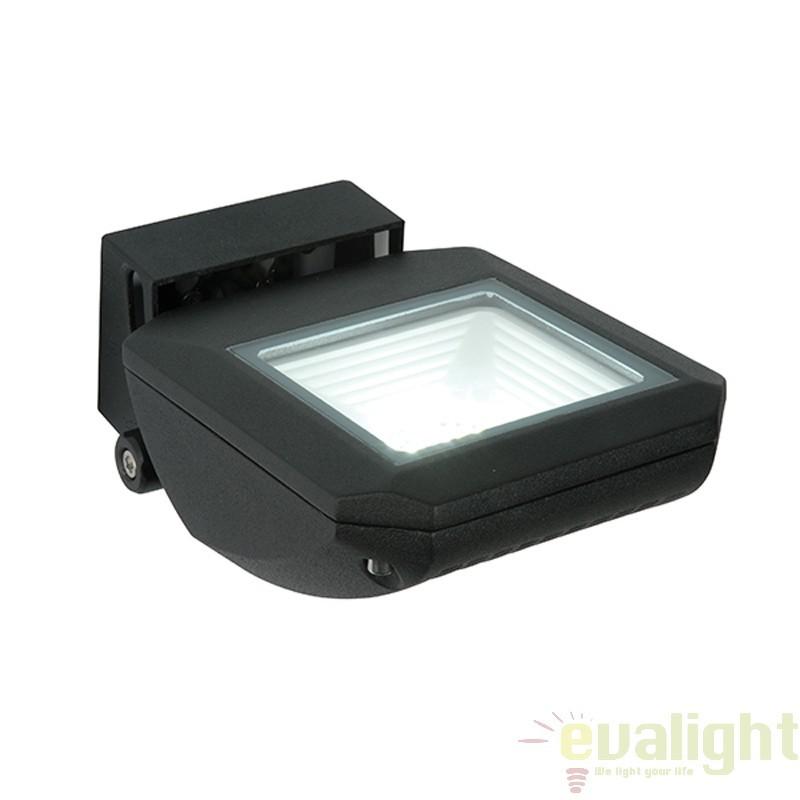 Proiector de exterior tip aplica de perete complet ajustabil cu iluminat LED IP65 Zyra 55718 EN, Proiectoare de iluminat exterior , Corpuri de iluminat, lustre, aplice, veioze, lampadare, plafoniere. Mobilier si decoratiuni, oglinzi, scaune, fotolii. Oferte speciale iluminat interior si exterior. Livram in toata tara.  a