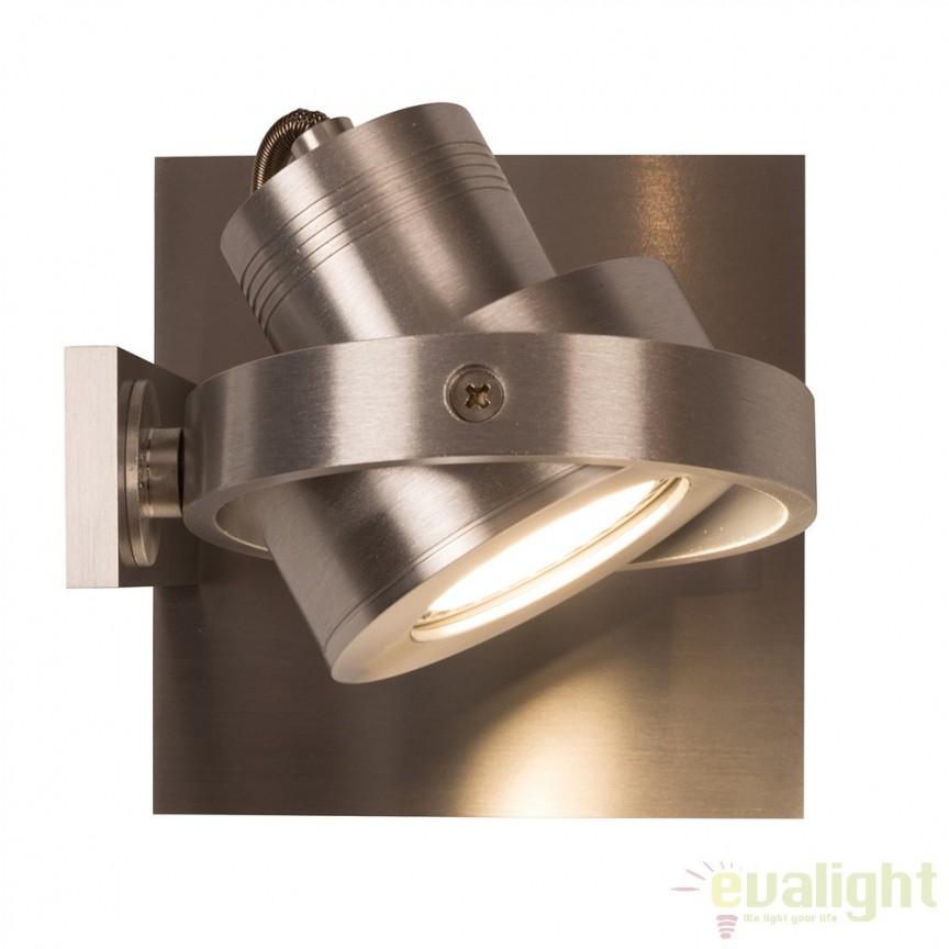 Aplica LED / Plafoniera moderna cu 1 spot LUCI-1 LED aluminiu 5500607 ZV, Spoturi LED incastrate, aplicate, Corpuri de iluminat, lustre, aplice a
