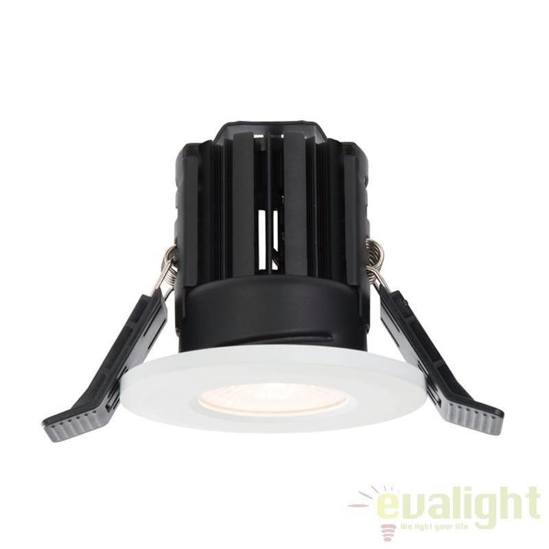 Spot incastrabil pentru baie IP65 iluminat warm white LED 11W 800 alb 61063 EN, Spoturi incastrate, aplicate - tavan / perete, Corpuri de iluminat, lustre, aplice a
