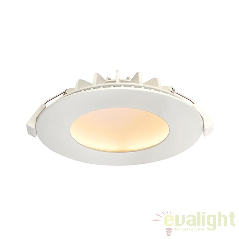 Spot incastrabil warm white LED cu design anti orbire Orbital alb 66389 EN, Spoturi incastrate, aplicate - tavan / perete, Corpuri de iluminat, lustre, aplice a
