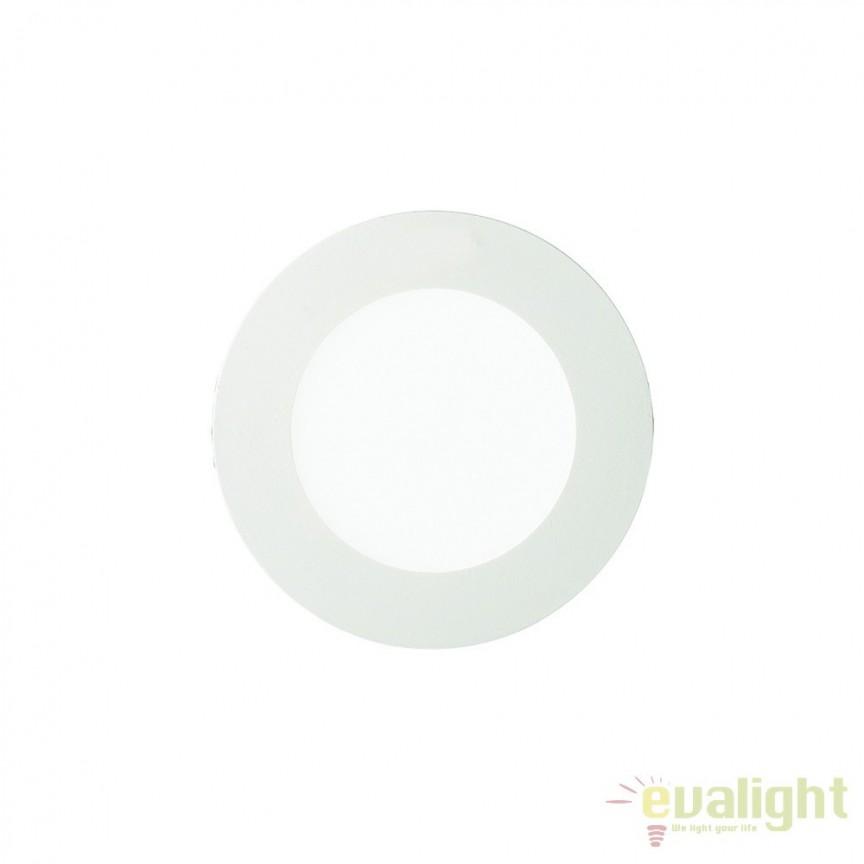 Spot incastrabil pt. tavan fals cu LED integrat GROOVE FI1 10W 3000K ROUND 123974, Spoturi LED incastrate, aplicate, Corpuri de iluminat, lustre, aplice, veioze, lampadare, plafoniere. Mobilier si decoratiuni, oglinzi, scaune, fotolii. Oferte speciale iluminat interior si exterior. Livram in toata tara.  a