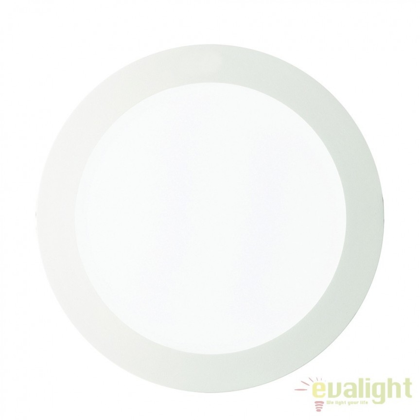 Spot incastrabil pt. tavan fals cu LED GROOVE FI1 30W ROUND 124018, Spoturi LED incastrate, aplicate, Corpuri de iluminat, lustre, aplice a