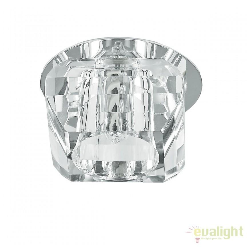 Spot incastrabil pt. tavan fals, crystal glass, SOUL-1 FI1 107691, Spoturi incastrate, aplicate - tavan / perete, Corpuri de iluminat, lustre, aplice a