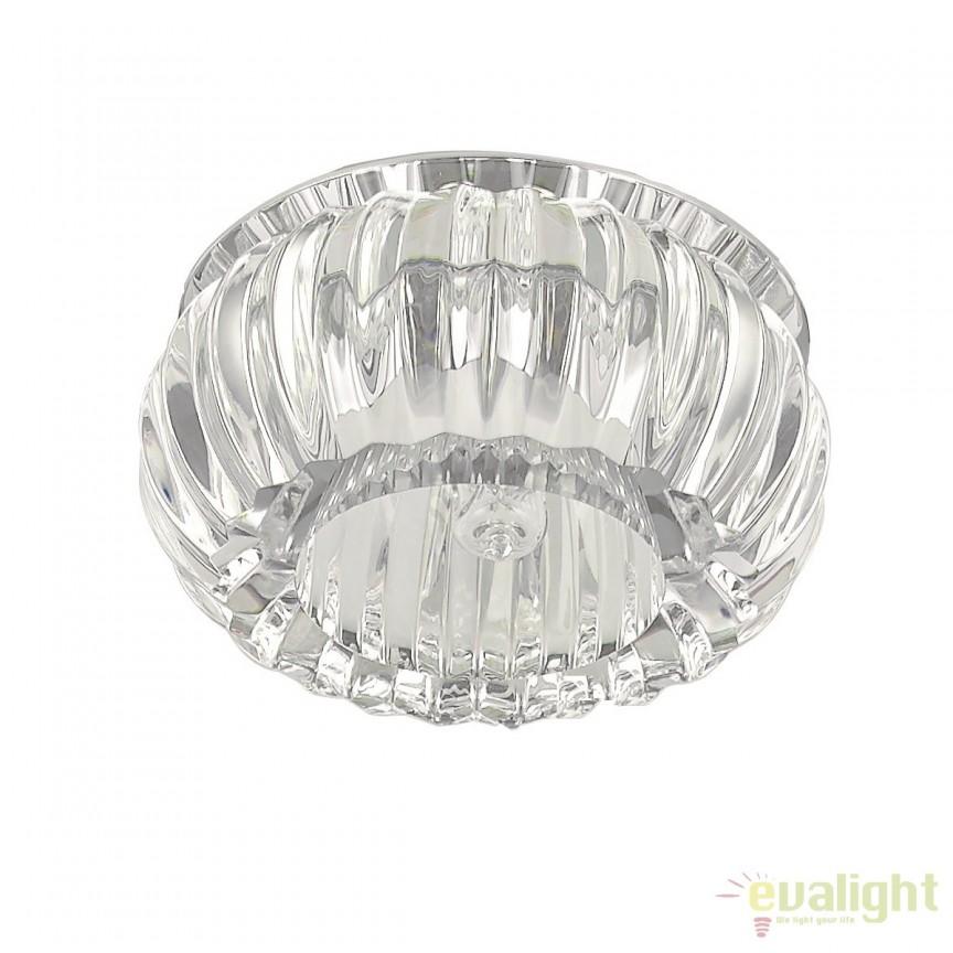 Spot incastrabil pt. tavan fals, crystal glass, SOUL-2 FI1 107707, Spoturi incastrate, aplicate - tavan / perete, Corpuri de iluminat, lustre, aplice a