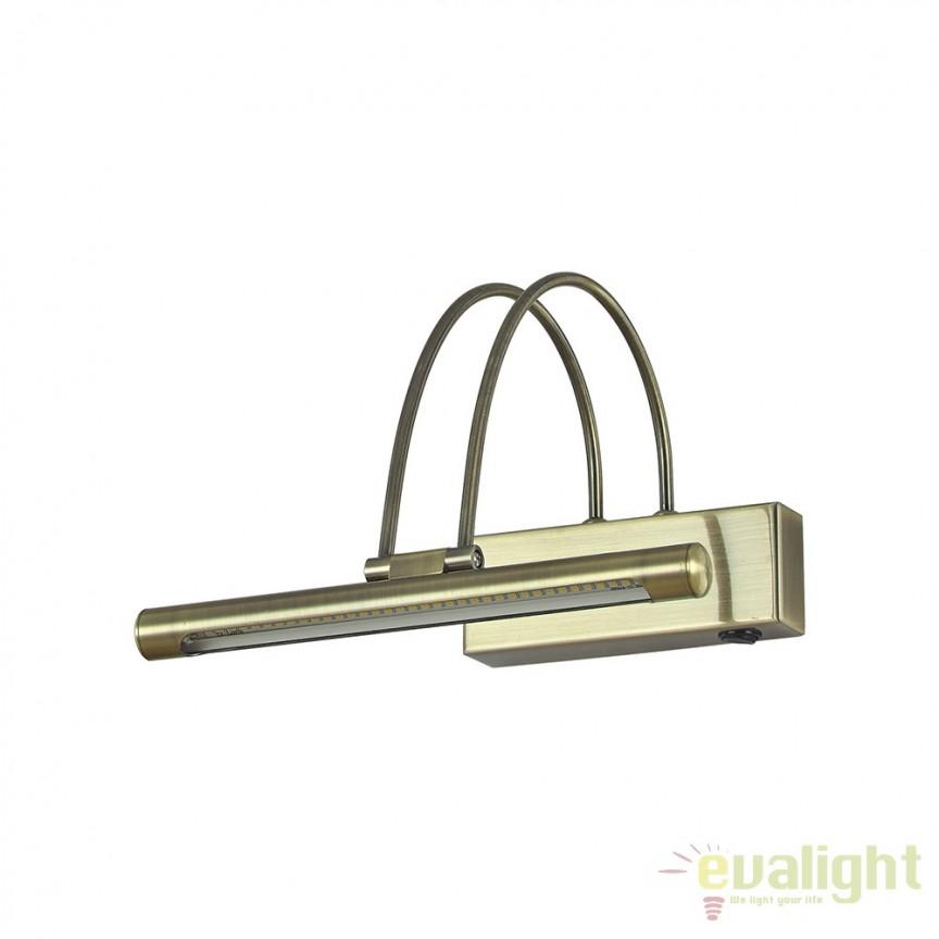 Aplica de perete LED BOW AP36 BRUNITO 121338, Aplice de perete LED, Corpuri de iluminat, lustre, aplice, veioze, lampadare, plafoniere. Mobilier si decoratiuni, oglinzi, scaune, fotolii. Oferte speciale iluminat interior si exterior. Livram in toata tara.  a
