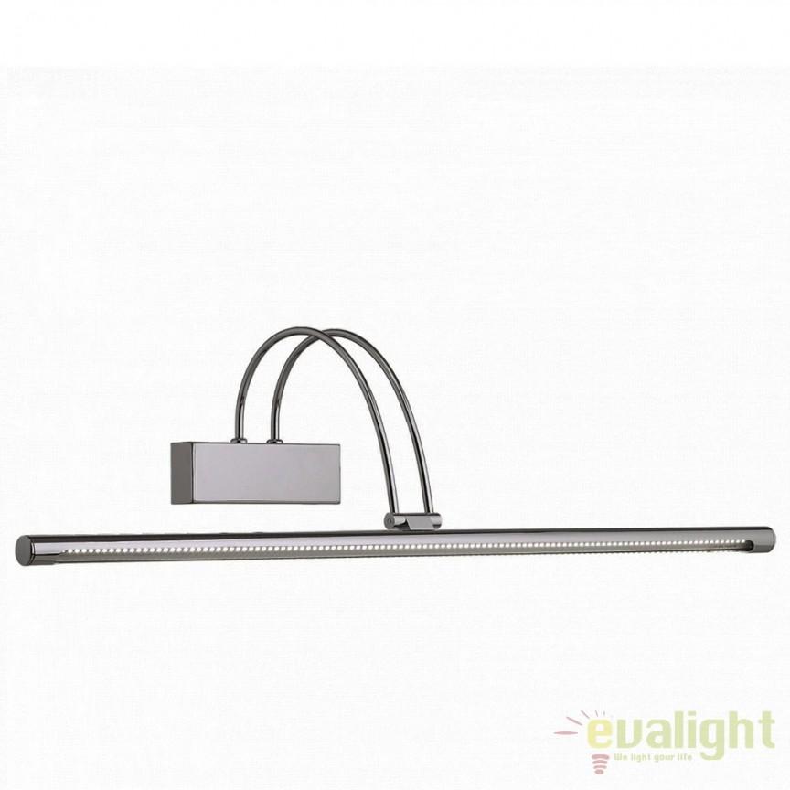 Aplica de perete LED BOW AP114 NICKEL 007069, Promotii si Reduceri⭐ Oferte ✅Corpuri de iluminat ✅Lustre ✅Mobila ✅Decoratiuni de interior si exterior.⭕Pret redus online➜Lichidari de stoc❗ Magazin ➽ www.evalight.ro. a