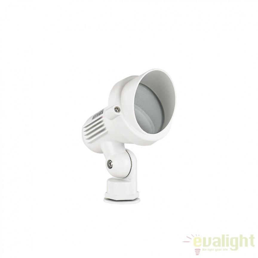 Tarus iluminat exterior IP65 TERRA PT1 SMALL BIANCO 106205, Proiectoare de exterior cu tarus, Corpuri de iluminat, lustre, aplice a