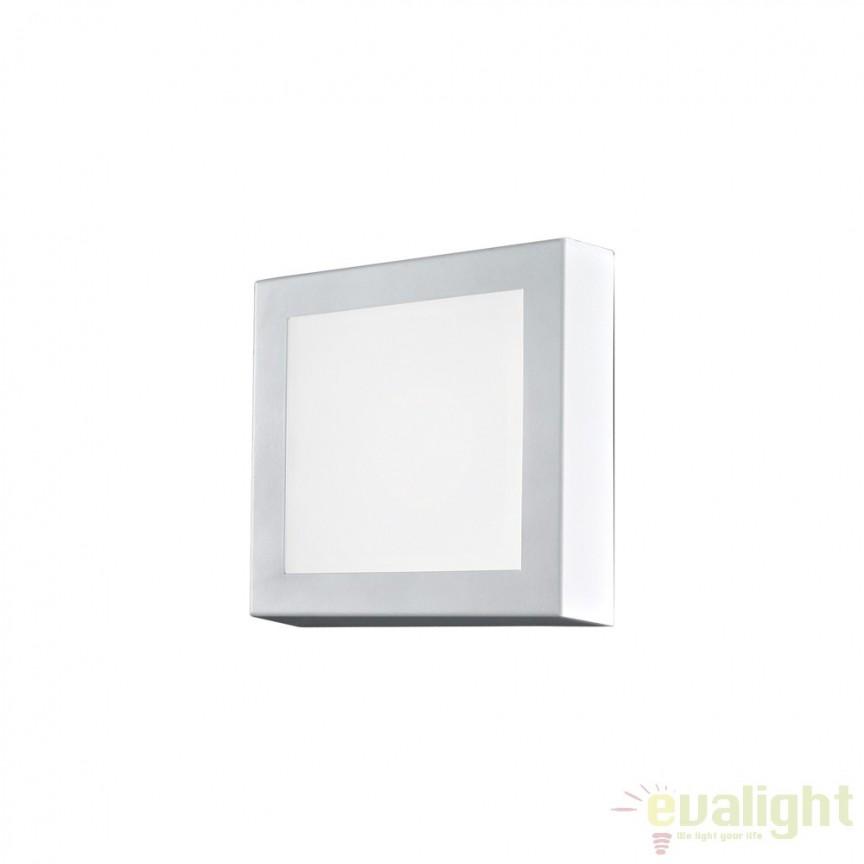 Aplica de perete / Plafoniera LED STORM PL1 116099, Aplice de perete LED, moderne⭐ modele potrivite pentru dormitor, living, baie, hol, bucatarie.✅DeSiGn LED decorativ 2021!❤️Promotii lampi❗ ➽ www.evalight.ro. Alege oferte NOI corpuri de iluminat cu LED pt interior, elegante din cristal (becuri cu leduri si module LED integrate cu lumina calda, naturala sau rece), ieftine si de lux, calitate deosebita la cel mai bun pret.  a