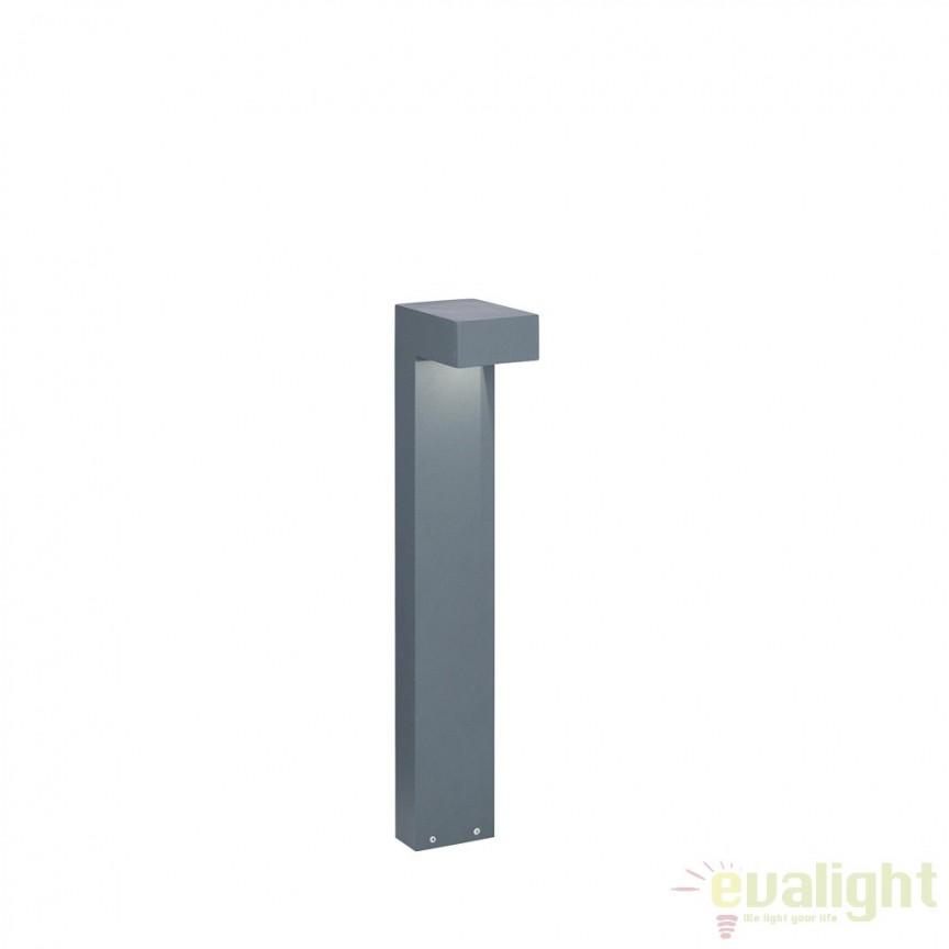 Stalp de iluminat exterior IP44 H-60cm SIRIO PT2 SMALL ANTRACITE 115078, Stalpi de iluminat exterior mici si medii , Corpuri de iluminat, lustre, aplice, veioze, lampadare, plafoniere. Mobilier si decoratiuni, oglinzi, scaune, fotolii. Oferte speciale iluminat interior si exterior. Livram in toata tara.  a