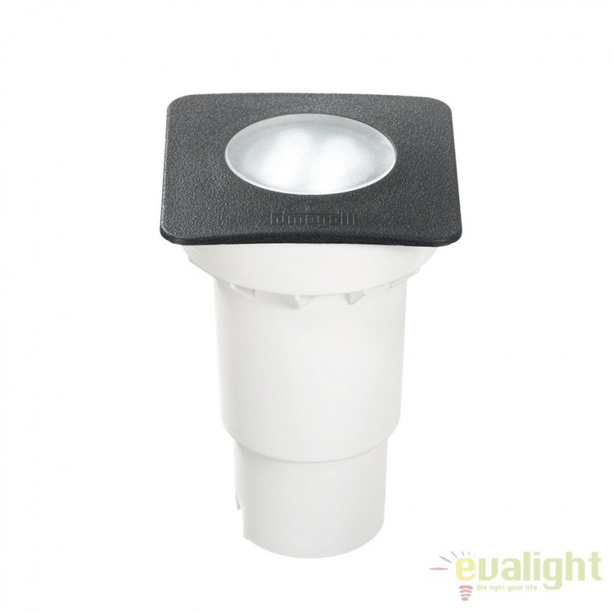 Spot LED incastrabil de exterior IP67 CECI SQUARE FI1 SMALL 120317, Iluminat exterior incastrabil , Corpuri de iluminat, lustre, aplice, veioze, lampadare, plafoniere. Mobilier si decoratiuni, oglinzi, scaune, fotolii. Oferte speciale iluminat interior si exterior. Livram in toata tara.  a