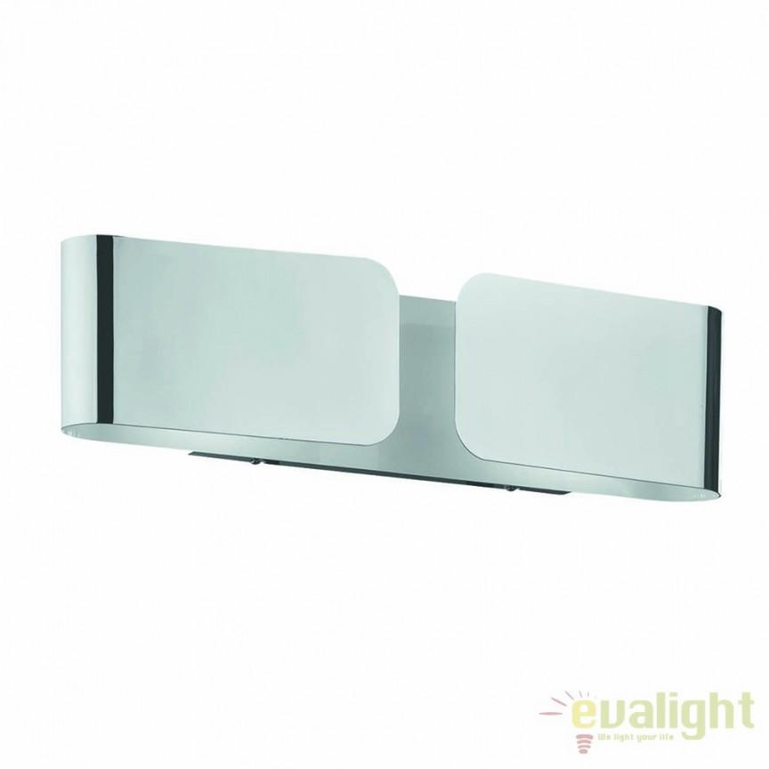 Aplica de perete CLIP AP2 MINI CROMO 049229, PROMOTII, Corpuri de iluminat, lustre, aplice, veioze, lampadare, plafoniere. Mobilier si decoratiuni, oglinzi, scaune, fotolii. Oferte speciale iluminat interior si exterior. Livram in toata tara.  a