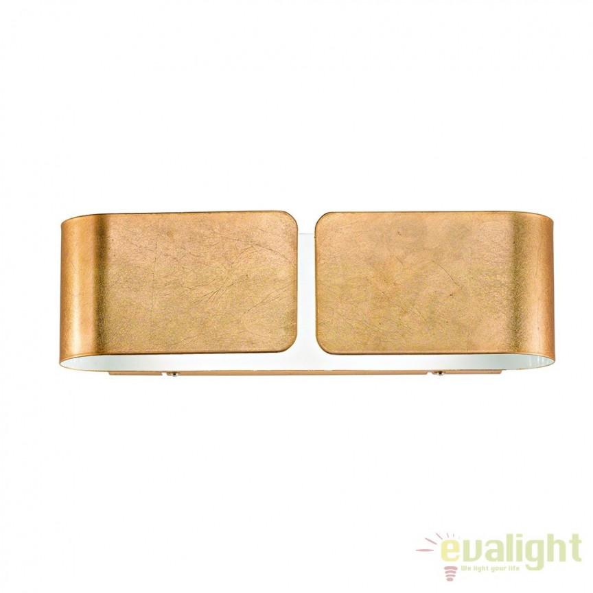 Aplica de perete CLIP AP2 MINI ORO 091129, Promotii si Reduceri⭐ Oferte ✅Corpuri de iluminat ✅Lustre ✅Mobila ✅Decoratiuni de interior si exterior.⭕Pret redus online➜Lichidari de stoc❗ Magazin ➽ www.evalight.ro. a