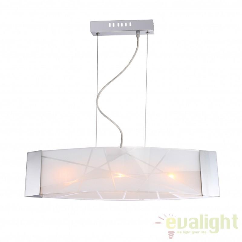 Lustra suspendata / Pendul design modern FERIA 48174-3H, Promotii si Reduceri⭐ Oferte ✅Corpuri de iluminat ✅Lustre ✅Mobila ✅Decoratiuni de interior si exterior.⭕Pret redus online➜Lichidari de stoc❗ Magazin ➽ www.evalight.ro. a
