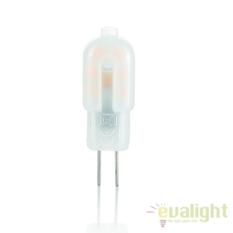 Bec LED G4 1.5W PLASTICA 123929, Becuri G9, G4, R7s, Corpuri de iluminat, lustre, aplice, veioze, lampadare, plafoniere. Mobilier si decoratiuni, oglinzi, scaune, fotolii. Oferte speciale iluminat interior si exterior. Livram in toata tara.  a