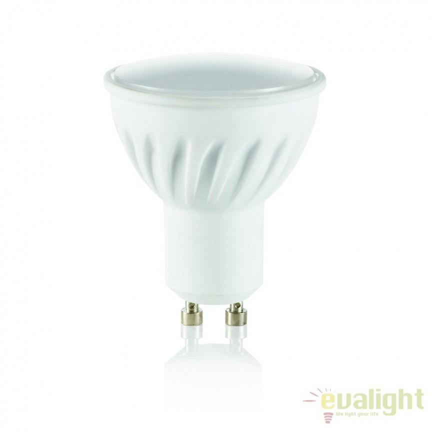 Bec LED GU10 7W CERAMICA 4000K 117652, Becuri GU10, Corpuri de iluminat, lustre, aplice, veioze, lampadare, plafoniere. Mobilier si decoratiuni, oglinzi, scaune, fotolii. Oferte speciale iluminat interior si exterior. Livram in toata tara.  a