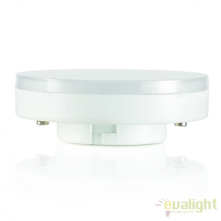 Bec LED GX53 9.5W 123936, Becuri halogene, Corpuri de iluminat, lustre, aplice, veioze, lampadare, plafoniere. Mobilier si decoratiuni, oglinzi, scaune, fotolii. Oferte speciale iluminat interior si exterior. Livram in toata tara.  a