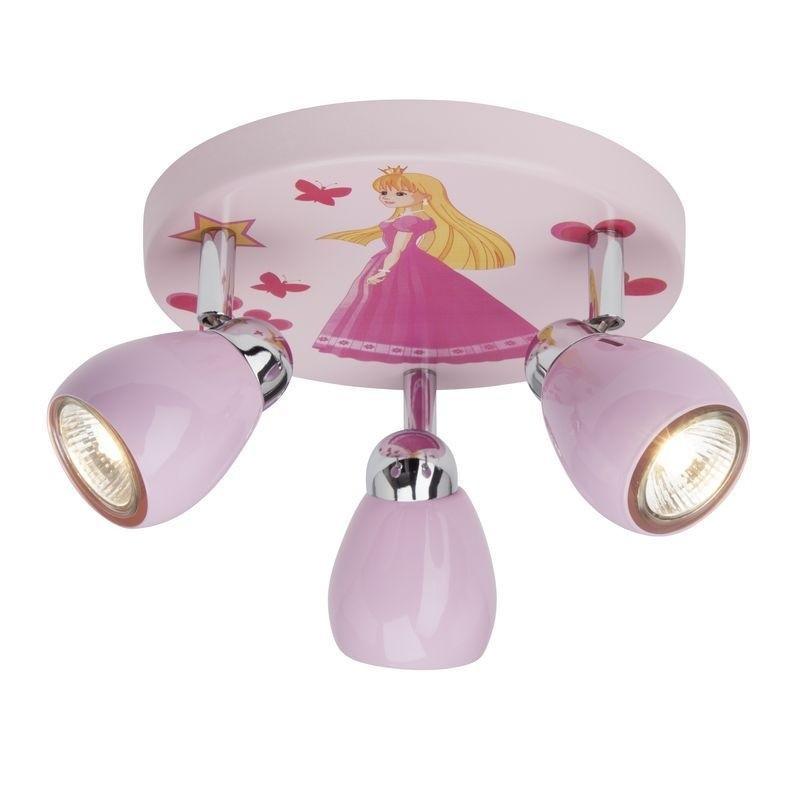 Plafonier pentru copii Princess G55934/17 BL, PROMOTII,  a