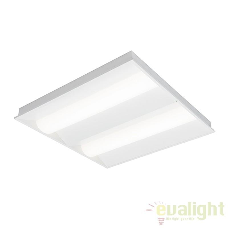 Plafoniera LED incastrabila pentru iluminat de urgenta/siguranta Davina EM 20W 52438 EN, Spoturi incastrate, aplicate - tavan / perete, Corpuri de iluminat, lustre, aplice a