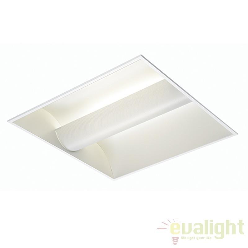 Plafoniera incastrabila Gulf 600 twin 36W 10708 EN, Spoturi incastrate, aplicate - tavan / perete, Corpuri de iluminat, lustre, aplice a