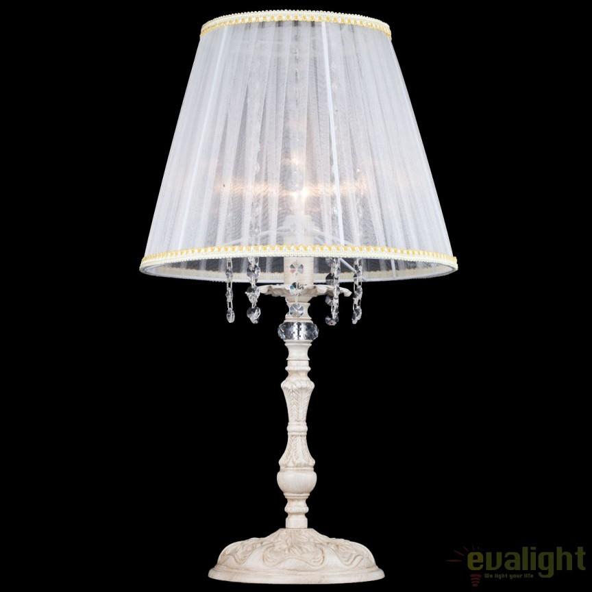 Veioza / Lampa de masa eleganta design clasic Omela MYARM020-11-W, PROMOTII, Corpuri de iluminat, lustre, aplice, veioze, lampadare, plafoniere. Mobilier si decoratiuni, oglinzi, scaune, fotolii. Oferte speciale iluminat interior si exterior. Livram in toata tara.  a