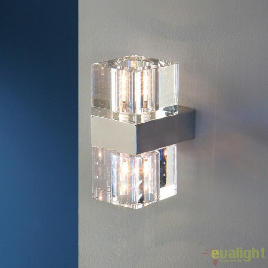 Aplica de perete LED stil modern Cubic SV-571034G9, PROMOTII, Corpuri de iluminat, lustre, aplice, veioze, lampadare, plafoniere. Mobilier si decoratiuni, oglinzi, scaune, fotolii. Oferte speciale iluminat interior si exterior. Livram in toata tara.  a