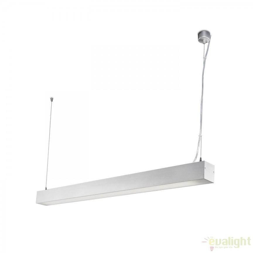Lustra / Pendul LED ORE Surface gri 35W 4000K 040400403 Faro Barcelona, ILUMINAT TEHNIC PROFESIONAL, Corpuri de iluminat, lustre, aplice a