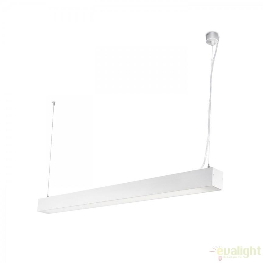 Lustra / Pendul LED ORE Surface alba 35W 3000K 040400301 Faro Barcelona, ILUMINAT TEHNIC PROFESIONAL, Corpuri de iluminat, lustre, aplice a