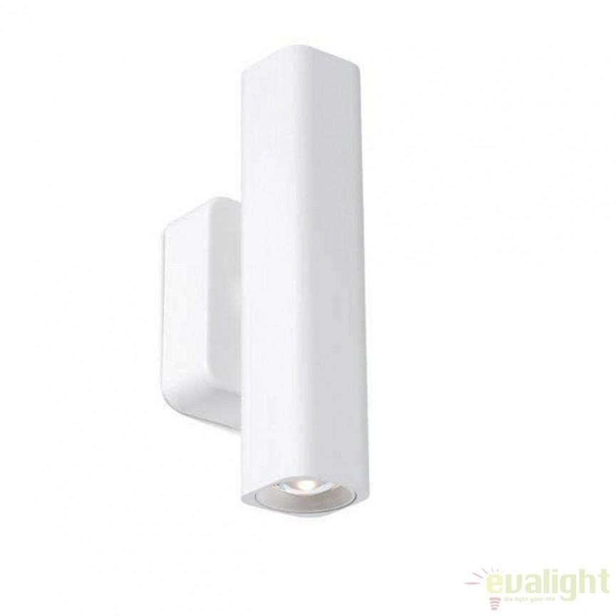 Aplica de perete iluminat LED UP-DOWN design modern LISE alba 29888 , Aplice de perete LED, moderne⭐ modele potrivite pentru dormitor,living,baie,hol,bucatarie.✅Design premium actual Top 2020!❤️Promotii lampi❗ ➽ www.evalight.ro. Alege oferte la corpuri de iluminat cu LED pt tavan interior, (becuri cu leduri si module LED integrate cu lumina calda, naturala sau rece), ieftine si de lux, calitate deosebita la cel mai bun pret.  a